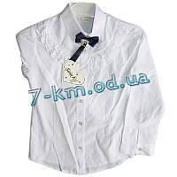Блуза для девочек Rom3055 коттон 4 шт (6-9 лет)
