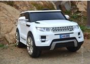 Детский электромобиль Range Rover FT 0903 белый, черный