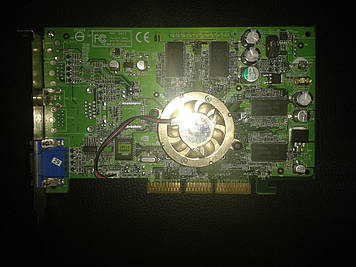 Видеокарта MSI GeForce4 MX-400, AGP