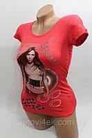 Стильные летние хлопковые женские футболки оптом Украина