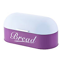 Хлебница Винтаж Бело-фиолетовая - 44*22*21см 3140