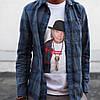 Футболка Supreme Neil Young белая | Бирка | Живые фотки