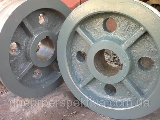 Таблица основных типоразмеров колёс крановых двухребордных ГОСТ 28648-90