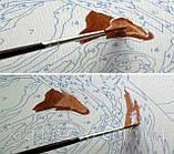 """Картина раскраска по номерам на холсте """"Дом у маяка"""", 40х50см. (MG192, КН192), фото 4"""