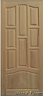 Двери Elegance Polo Орех итальянский стекло бежевое