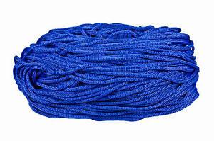 Шнур для одежды круглый цв василек 5мм (уп 100м) 5-07