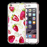 Silicon Diamond Case iPhone 6 Cocktail Series Strawberry