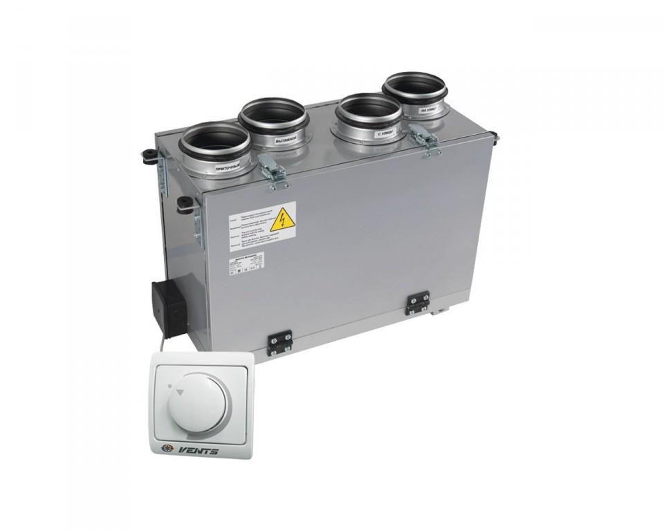Приточно-вытяжная установка ВЕНТС ВУТ 300 В мини, VENTS ВУТ 300 В мини с рекуперацией тепла