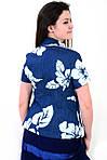 Жакет женский  джинсовый приталенный (ЖК 765),пиджак , блузон, большие размеры,48,50,52,54,56,58., фото 2