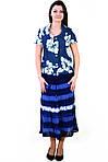 Жакет женский  джинсовый приталенный (ЖК 765),пиджак , блузон, большие размеры,48,50,52,54,56,58., фото 3
