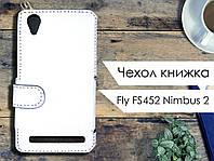 Чехол книжка для Fly FS452 Nimbus 2