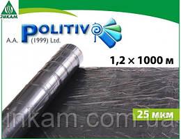 Пленка мульчирующая POLITIV E1103 черная 1,2 х 1000 м