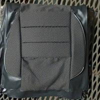 Чехлы модельные Pilot ВАЗ 2101/02/05 кожзам серый + ткань светло-серая, подголовники съемные