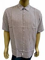 Легкая летняя рубашка Eskola большого размера 54, 56, 58