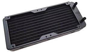 Радиатор для водяного охлаждения 240х120 сопло 8мм