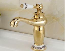 Смеситель кран для умывальника в ванную однорукий 0387