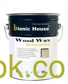 Bionic-House WOOD WAX - Восковая краска для дерева 2,5 л