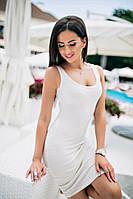 Женское платье (42-44, 44-46 ) — трикотаж купить оптом и в Розницу в одессе  7км