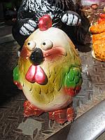 Копилка цыпленок круглый 18 см.