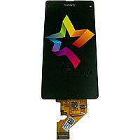 Дисплей для мобильного телефона Sony D5503/Xperia Z1 Compact, черный, с тачскрином, AAA