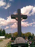 Надгробный крест из гранита резной