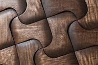 Деревянная 3D мозаика Chicago