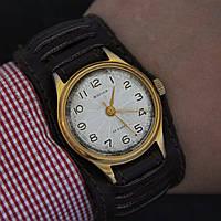 Волна винтажные наручные механические часы СССР, фото 1