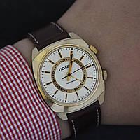 Полет механические часы с будильником СССР , фото 1