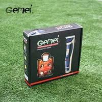 Аккумуляторная Универсальная Машинка для стрижки волос Триммер 2 в 1 GEMEI GM-6005