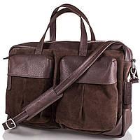 Мужская замшевая сумка VALENTA (ВАЛЕНТА) BM70243810