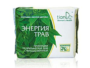 Лечебные прокладки на критические дни «Энергия трав», 8шт лечение и профилактика  гинекологических заболеваний