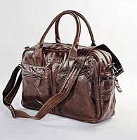 Мужская кожаная сумка Jasper&Maine 7142C коричневая