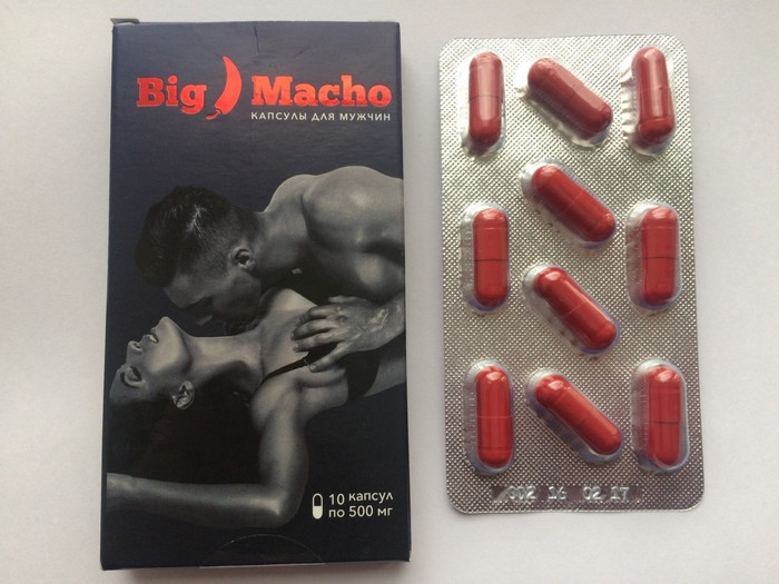 Big Macho - капсулы для потенции (Биг Мачо)