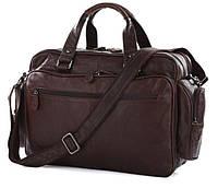 Мужская сумка Jasper&Maine 7150Q коричневая
