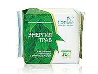 Лечебные ежедневные прокладки «Энергия трав» из 49 целебных трав, 20шт, фото 1