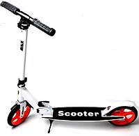 Двухколесный самокат Smart Scooter White