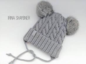 Красивейшая шапочка из белорусского акрила №12 Ареола