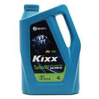 Моторное масло для бензиновых двигателей KIXX TURBO RV 10W-40  4л