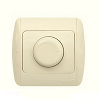 Диммер, светорегулятор 1000W поворотный EL-Bi Zirve крем