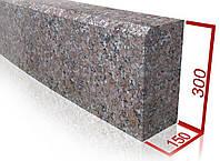 Бордюр из гранита (габбро) ГП-1 Lx300х150 пиленый или термообработанный