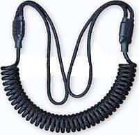 Страховочный,универсальный шнур для пистолета. Цвет - Черный.