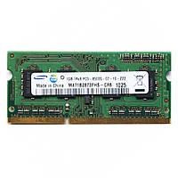 Память ОЗУ DDR3 1Gb PC3-8500S Samsung для НОУТБУКА SO-DIMM 1333MHz