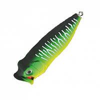 Воблер Nomura Bubble Popper 35мм 2,5гр. цвет-067 (MAT GREEN TIGER)