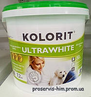Краска для внутренних работ Колорит Ультравайт (ULTRAWHITE) 4,3кг  3л