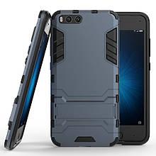 Чехол накладка силиконовый Armor Shield для Xiaomi Mi 6 синий