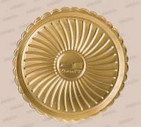 Поднос круглый золотой «Deco» (30 см)