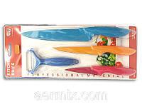 Набор кухонных керамических ножей с фиксированным лезвием