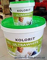 Краска для внутренних работ Колорит Ультравайт (ULTRAWHITE) 14кг  10л