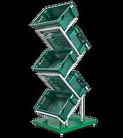 Стійка для ящиків під овочі та фрукти, висота - 1590 см