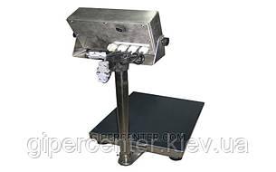 Товарные электронные весы ЗЕВС™ нержавеющего исполнения A12ESS до 500 кг (600х800 мм), фото 2